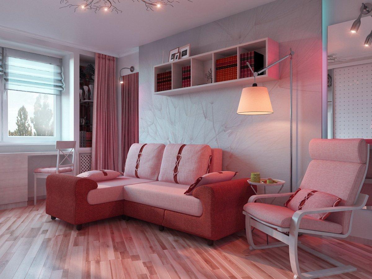 особенная однокомнатная квартира угловая дизайн фото может перед сном