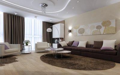 Дизайн зала в квартире 18 кв. м