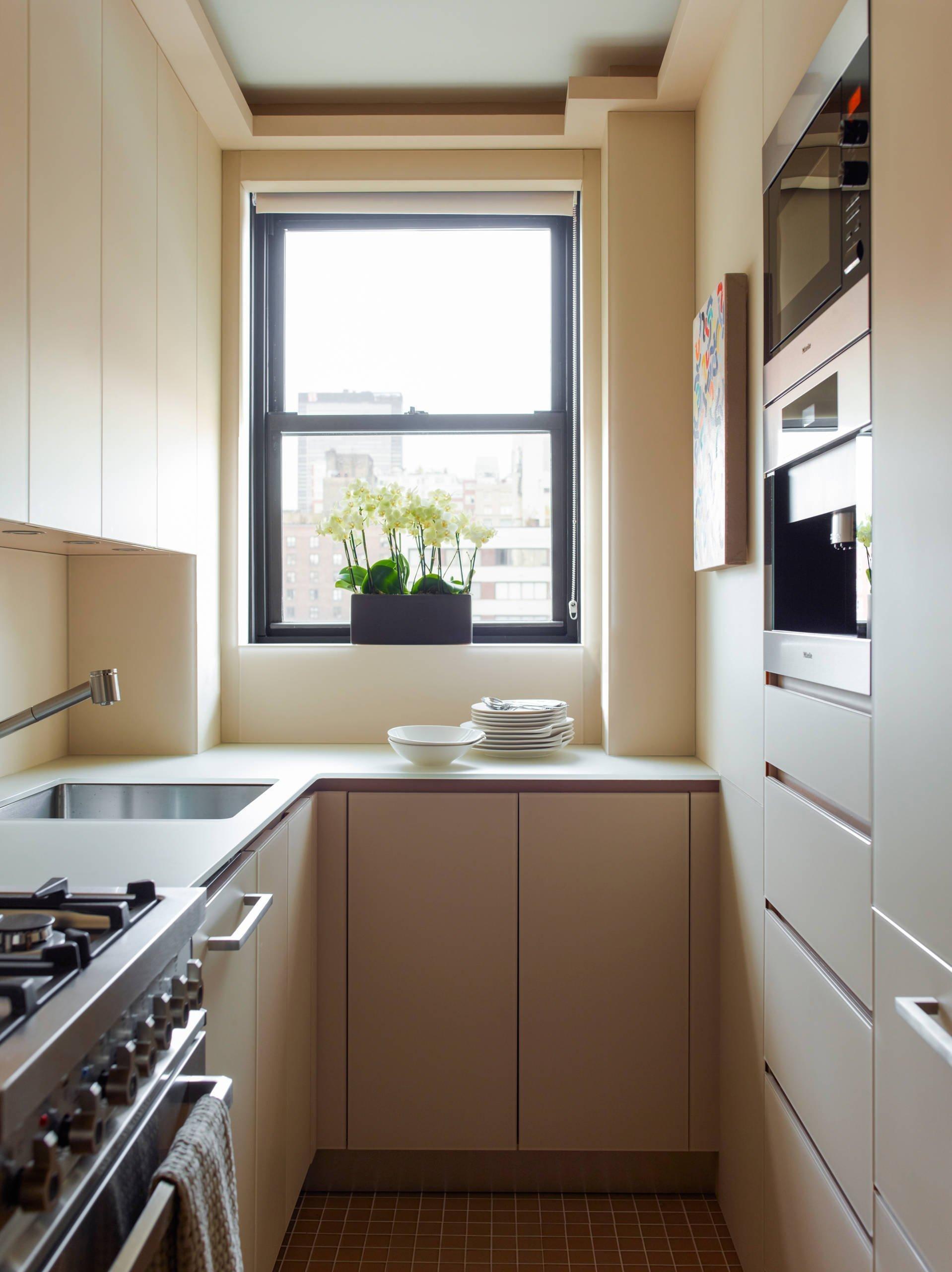 Расстановка техники на кухне 4 кв м