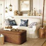 Полка над диваном