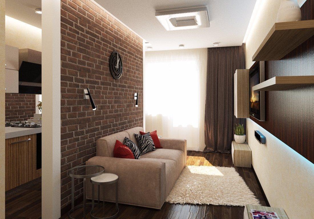 Перегородка в однокомнатной квартире 36 кв м