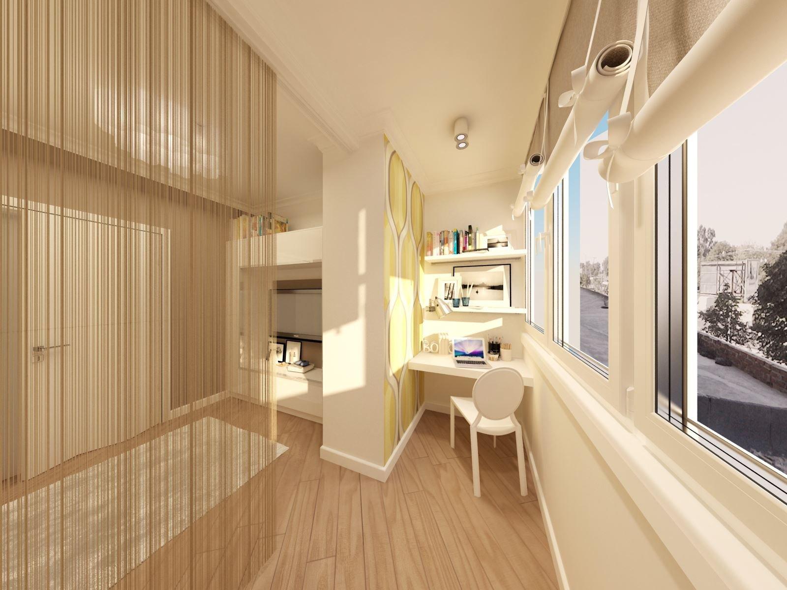 Однокомнатная квартира 36 кв м с балконом