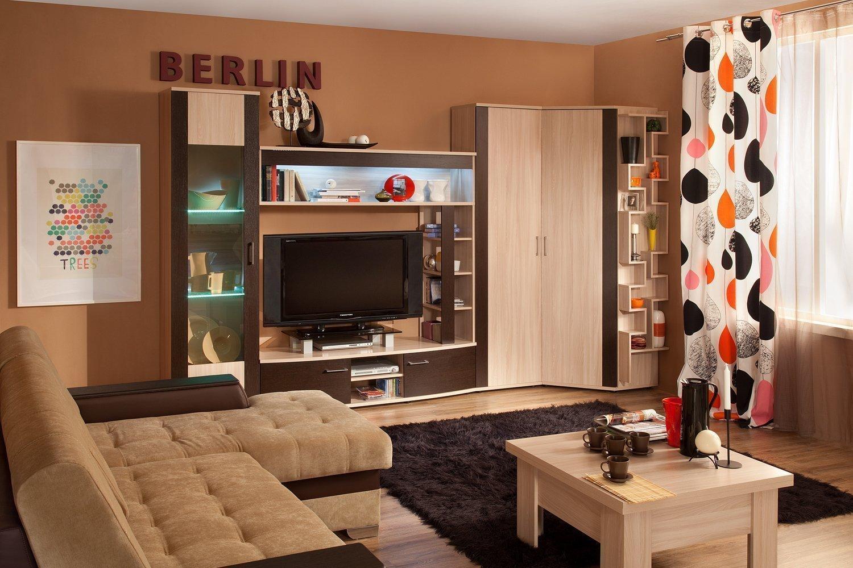 Модульная мебель в квартире 36 кв м