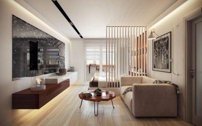Дизайн однокомнатной квартиры 36 кв. м — идеи интерьера
