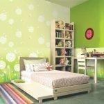 Сочные цвета для декора стен