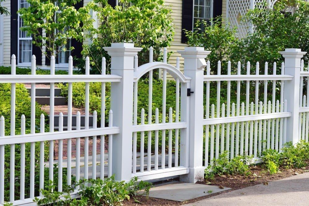 Забор в стиле прованс
