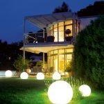 Дизайнерское освещение для дачи