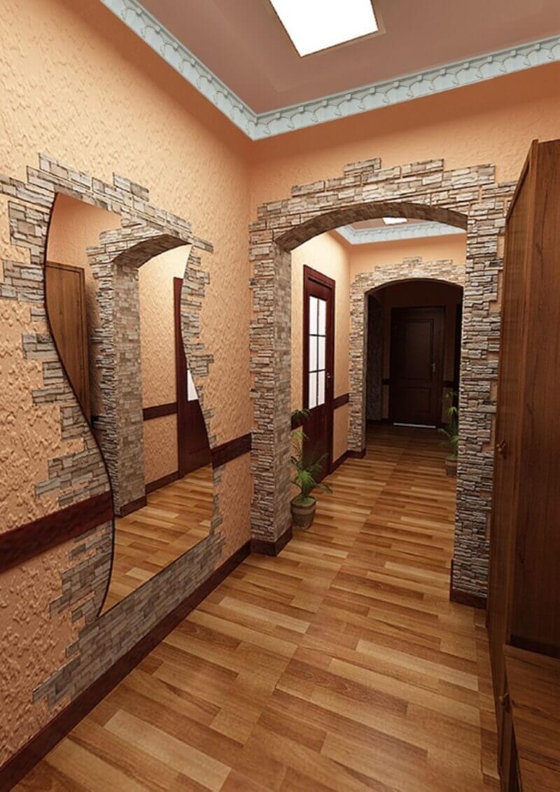 самых комфортных арка из декоративного камня в квартире фото закономерно, поскольку