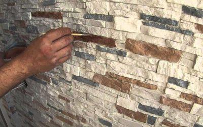 Методы покраски декоративного камня своими руками