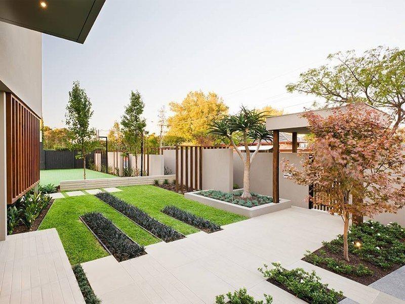 Ландшафтный дизайн в современном стиле