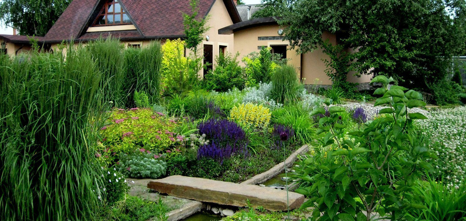 Ландшафтный дизайн в эко-стиле