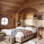 Клетка в дизайне спальни