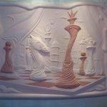 Барельеф шахматы