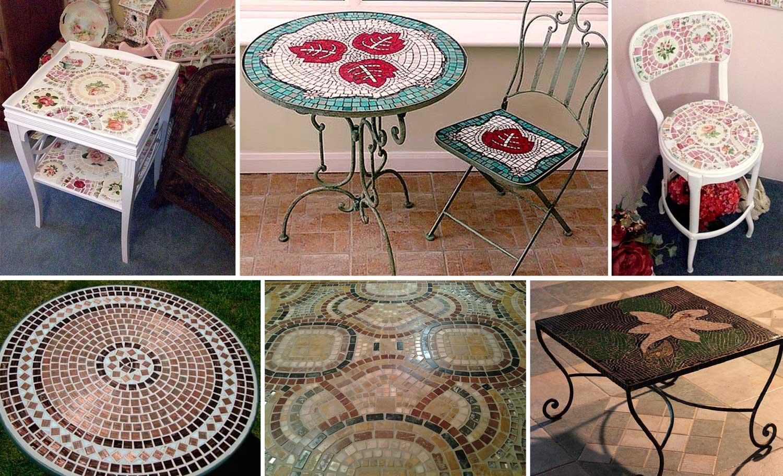 Мозайка для декора мебели