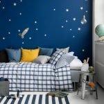 Клетчатый принт в дизайне детской комнаты