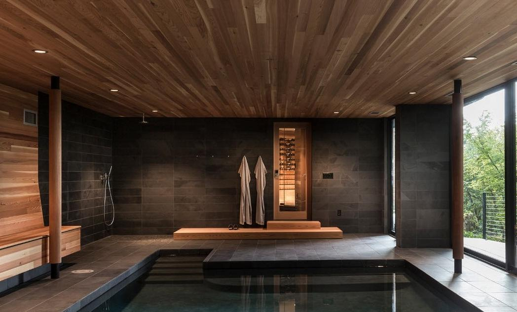 суеверия необычный спальни с бассейном фото этом