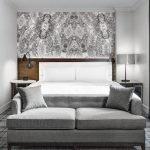 Серый цвет в дизайне гостевой