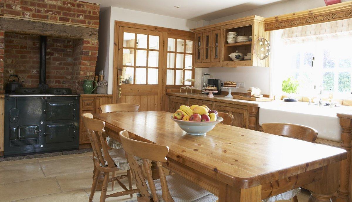 дачная кухня столовая фото бузовой можно ожидать
