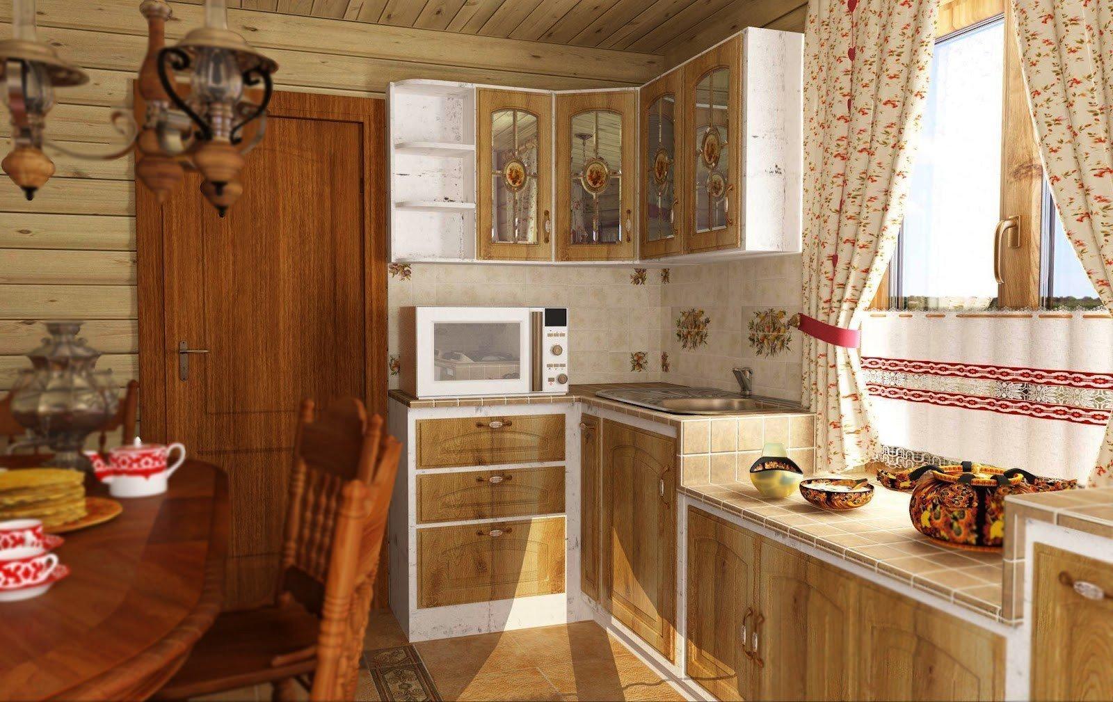 универсальный вариант оформление кухни на даче фото проведения процедуры для