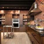 Кухонная мебель со встроенной подсветкой