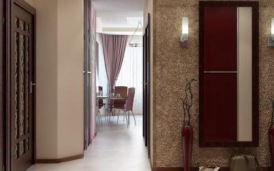 Дизайн двухкомнатной квартиры распашонки: 5 вариантов перепланировки