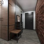 Корпусная мебель в холле
