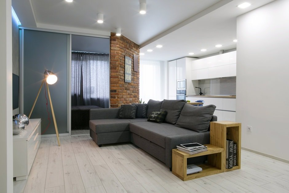 Яркое освещение в квартире