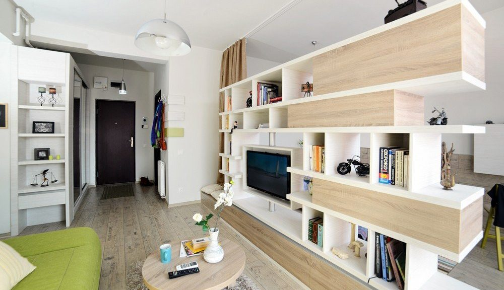 Дизайн однокомнатной квартиры 46 кв м