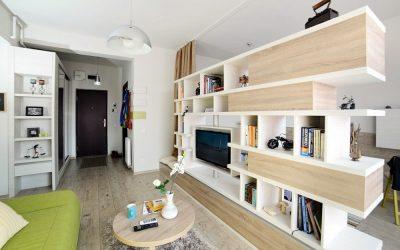Дизайн квартиры 46 кв. м