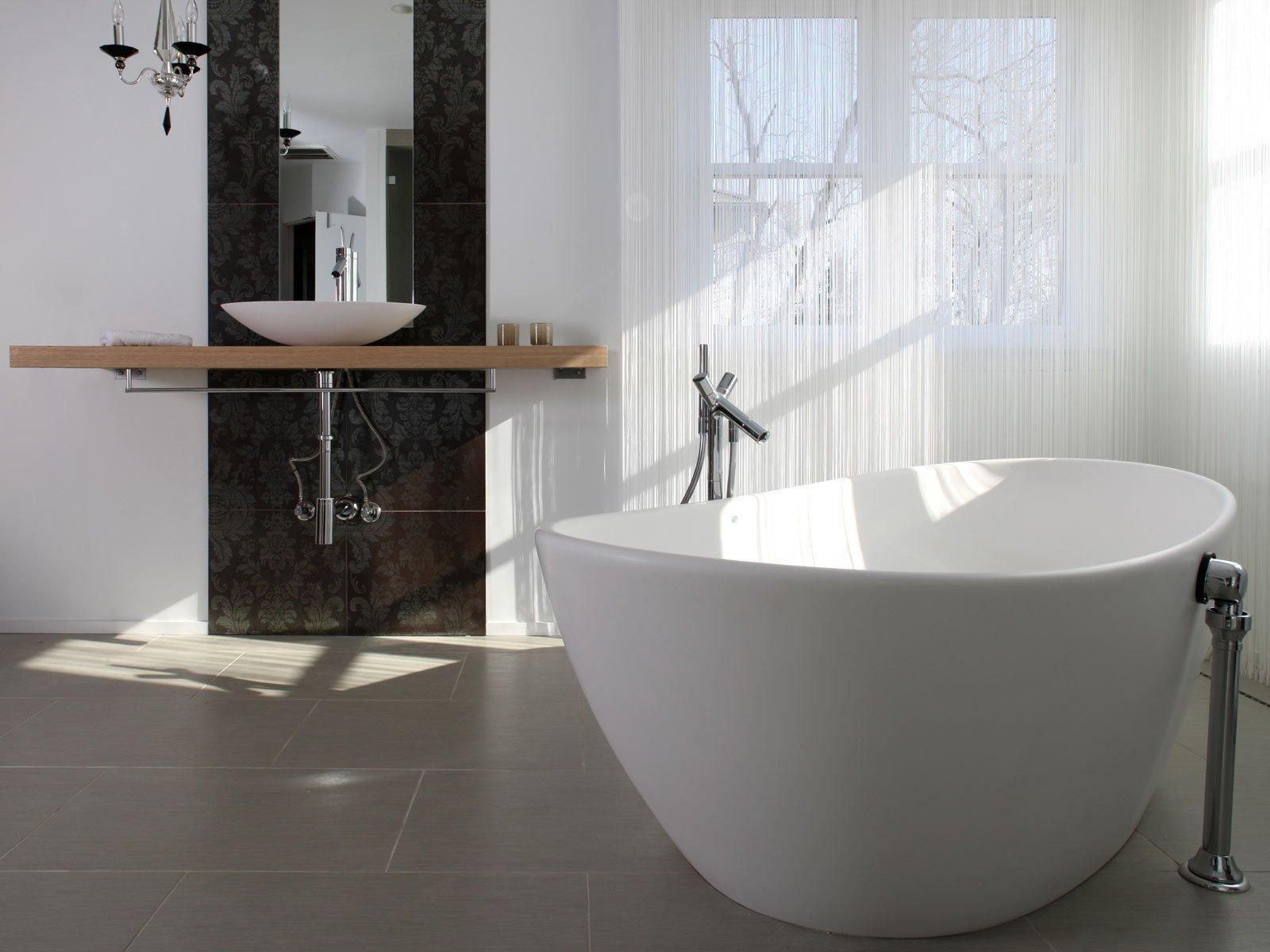 Роскошь и простота в дизайне ванной