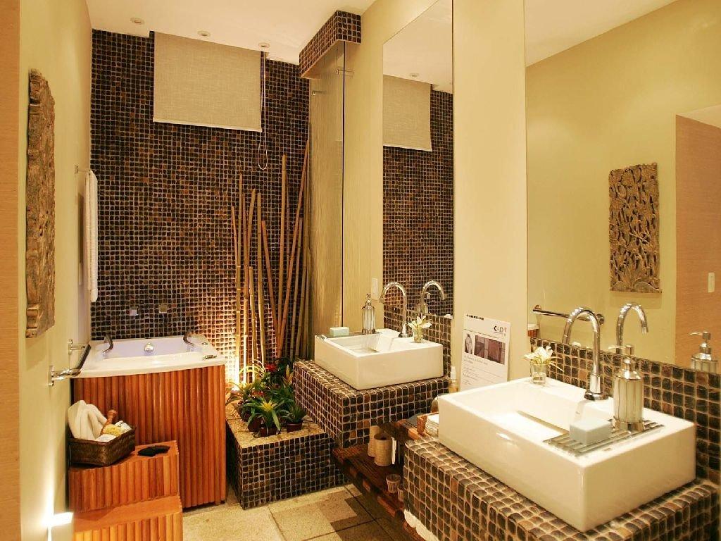 Дизайн-проект маленькой ванной