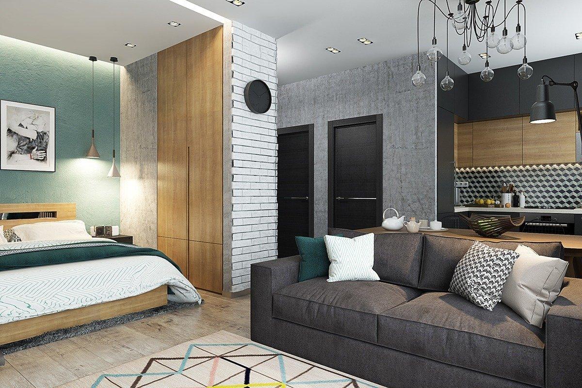 Проходная гостиная в квартире