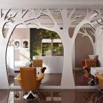 Дерево на зеркале
