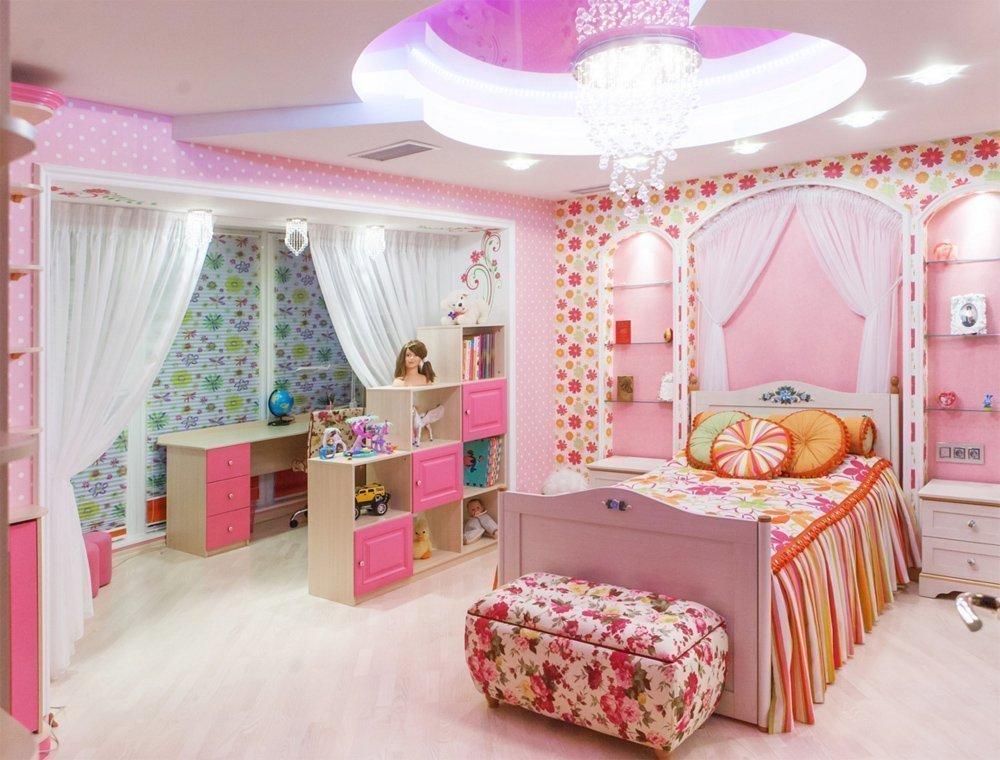 Красочный интерьер детской