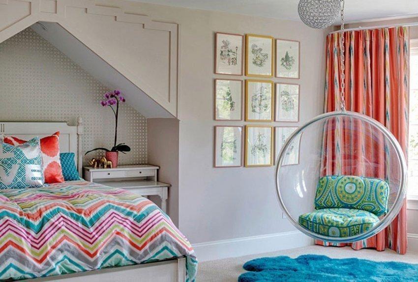 Спальня для творческой личности
