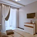 Балкон в спальной комнате