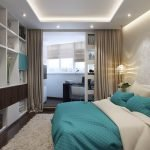 Дизайнерский ремонт в спальне