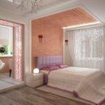 Объединение жилой комнаты с балконом