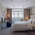 Классическая планировка в спальне