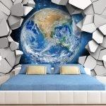 Фотообои с изображением Земли