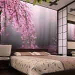 Фотообои с цветущим деревом
