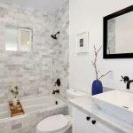 Предметы интерьера в ванной комнате