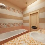 Применение мозаики в дизайне ванной