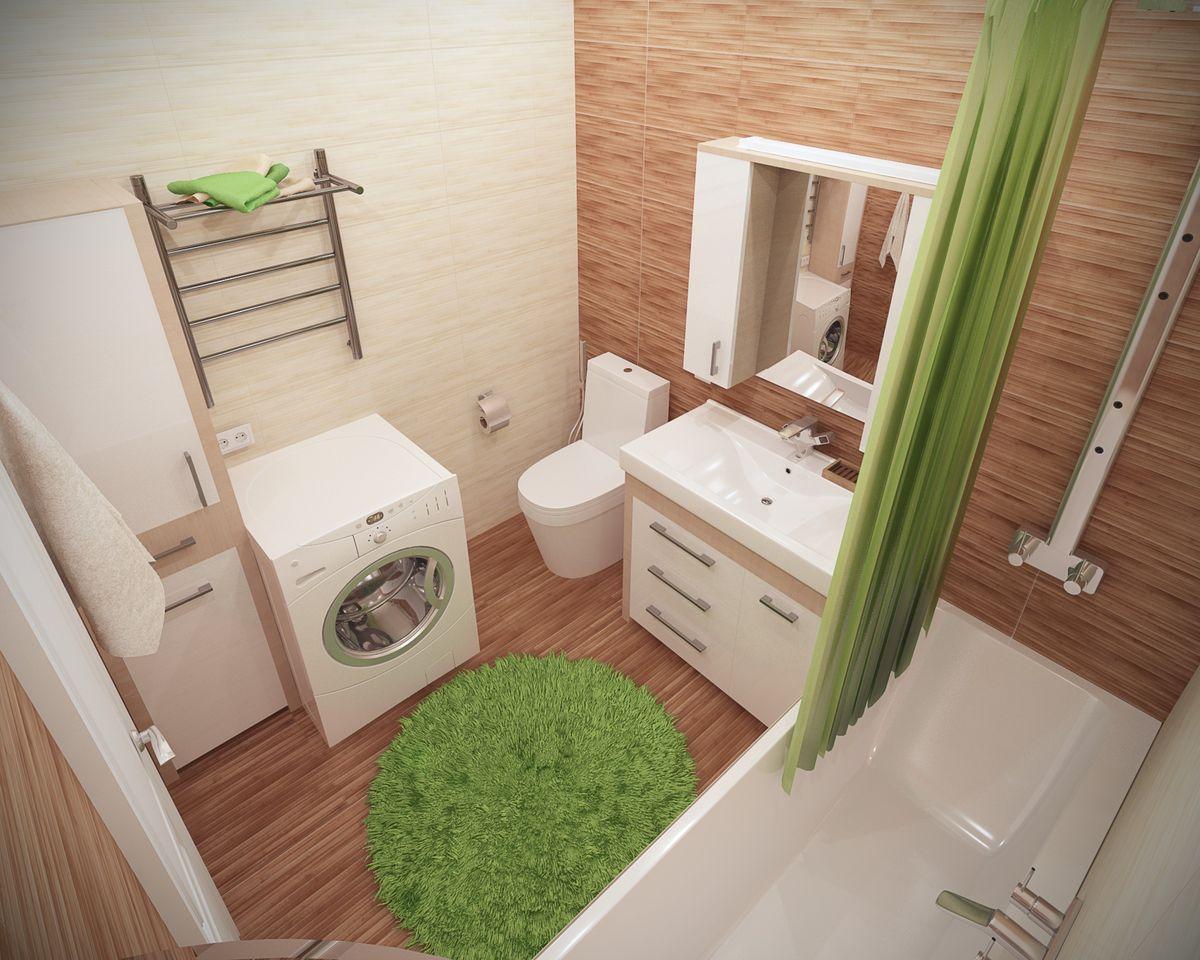 Ванная комната: вид сверху