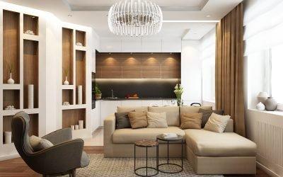 Дизайн квартиры 70 кв. м: советы и идеи