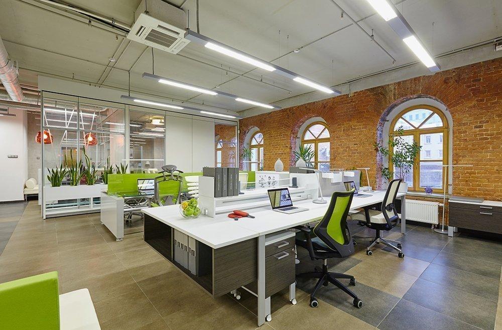 Вариант дизайна офиса