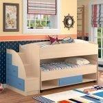 Двухъярусная кровать из ДСП