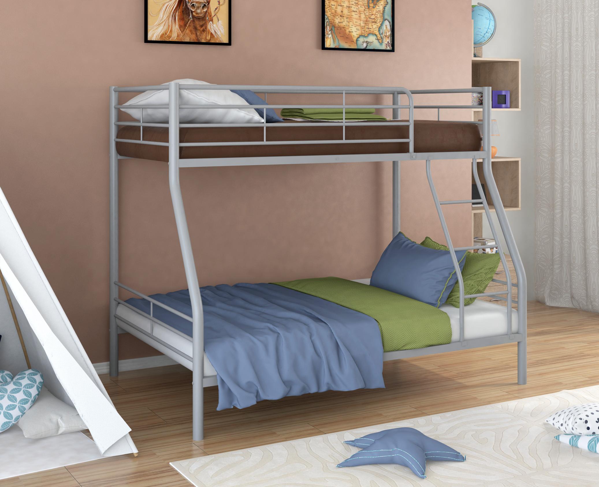 Двухъярусная кровать в стиле хай-тек
