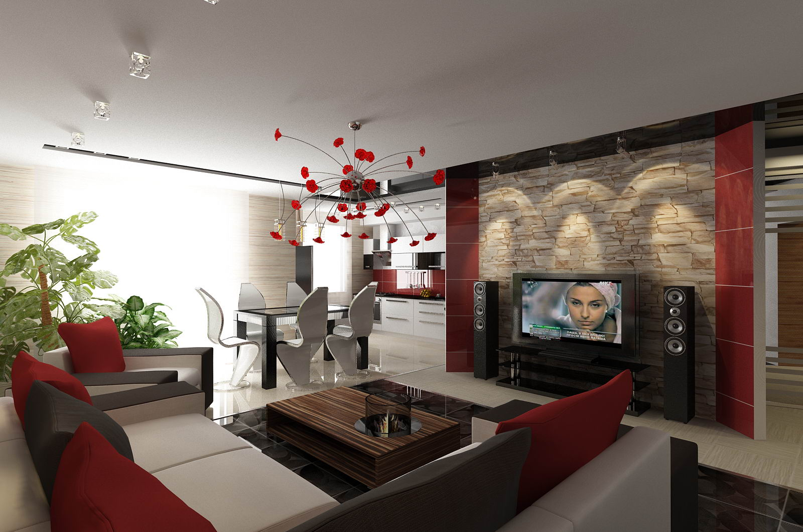 Расстановка мебели в помещении