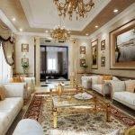 Столики между диванами